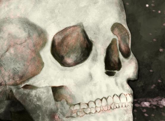 Detalle de ilustración digital de labruja
